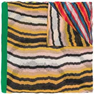 Missoni long geometric scarf