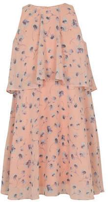 BCBGMAXAZRIA Waterfall Poppies Dress - Toddler