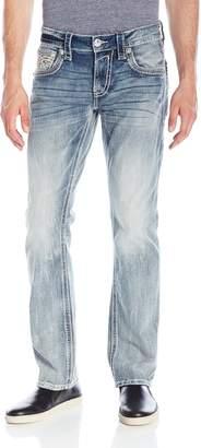 Rock Revival Men's Flann J400 Straight Leg Jean
