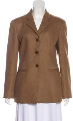 Armani Collezioni Wool Structured Blazer