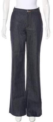 Vanessa Seward Mid-Rise Wide-Leg Jeans w/ Tags