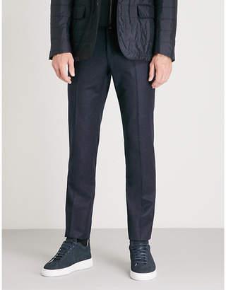 Corneliani Academy-fit straight wool trousers