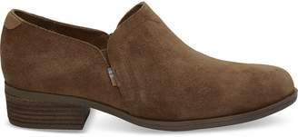 Dark Amber Suede Women's Shaye Booties