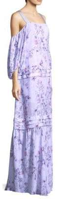 Prose & Poetry Simone Balloon Sleeve Maxi Dress