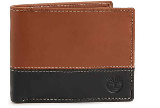 Timberland Hunter Two-Tone Passcase Leather Wallet - Men's