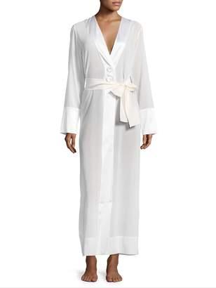 La Perla Women's Long Silk Robe
