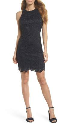 Eliza J Lace Sheath Dress (Regular & Petite)