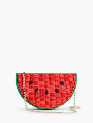 Talbots Wicker Watermelon Crossbody Bag