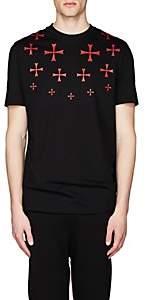 Neil Barrett Men's Graphic Cotton Jersey T-Shirt - Black