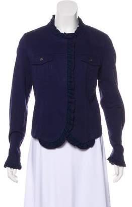 Marc Bouwer Button-Up Knit Jacket