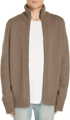 Our Legacy Funnel Neck Zip Sweater