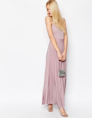 ASOS Cami Maxi Dress with Pleated Skirt $52 thestylecure.com