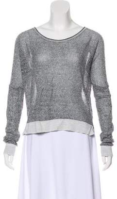 Rag & Bone High-Low Long Sleeve Sweater