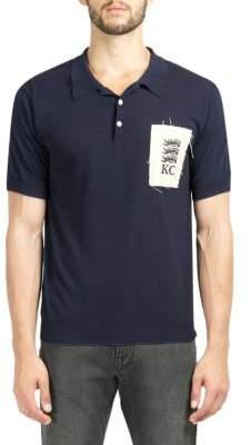 Kent & Curwen Logo Patch Cotton Polo