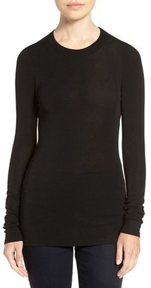 Women's Trouve Sheer Layering Tee $49 thestylecure.com