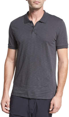 Vince Classic Slub Cotton Polo Shirt