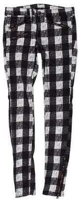 Rag & Bone Low-Rise Skinny Pants