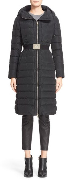 Moncler Women's Moncler 'Imin' Water Resistant Belted Down Puffer Coat
