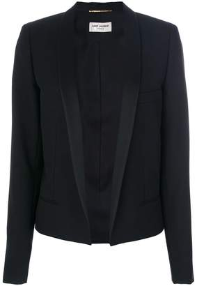 Saint Laurent open front blazer