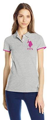 U.S. Polo Assn. U.S. Polo Shirt Assn. Juniors' Contrast Patch Polo Shirt