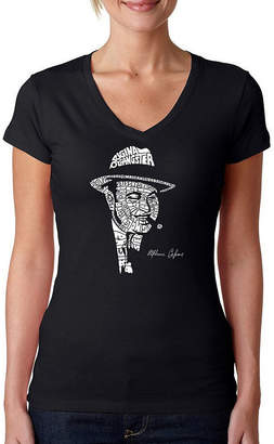 LOS ANGELES POP ART Los Angeles Pop Art Al Capone-Original Gangster Graphic T-Shirt