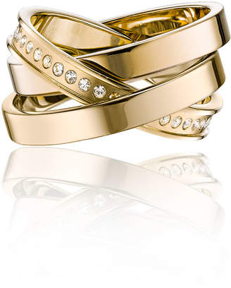 Vita Fede Cassio Pave Crystal Ring Set