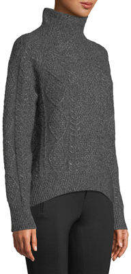d4ce29612fa9 Vince Gray Women s Turleneck Sweaters on Sale - ShopStyle
