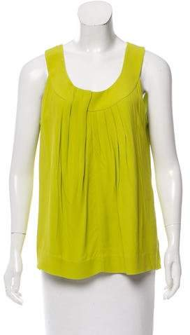 Kate Spade New York Drape Accented Sleeveless Top