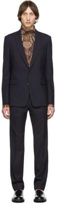 Dries Van Noten Navy Kayne Suit