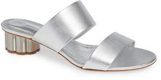 Salvatore Ferragamo Bellundo Double Band Slide Sandal
