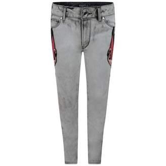 GUESS GuessGirls Acid Wash Skinny Jeans
