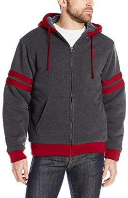 U.S. Polo Assn. Men's Fleece Hooded Jacket