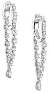 Anita Ko 18K Gold& Diamond Sienna Huggie Hoops