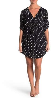 Daniel Rainn DR2 by 3/4 Length Sleeve Shirt Dress (Petite)