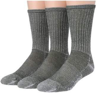 Smartwool Hike Light Crew 3-Pack Men's Quarter Length Socks Shoes