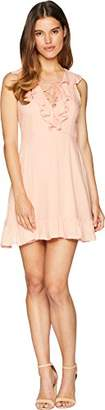Jack by BB Dakota Junior's Helen Solid Ruffle Dress 4