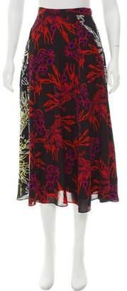 Tanya Taylor Jackson Midi Skirt