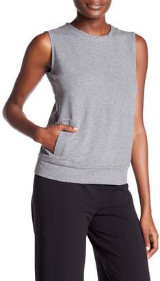 Norma Kamali Sleeveless Sweatshirt
