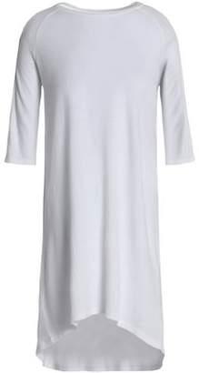 Zoe Karssen Mélange Cotton-Blend Jersey Mini Dress