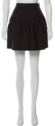 Valentino Ruffled Mini Skirt
