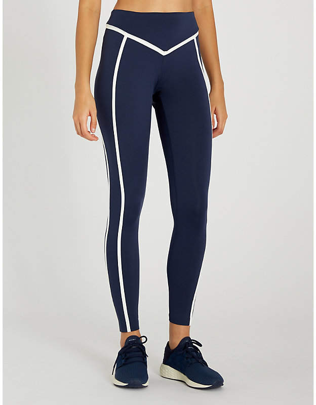 ERNEST LEOTY Corset stretch-jersey leggings