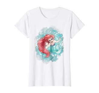 Disney Womens Little Mermaid Ariel Graphic T-Shirt