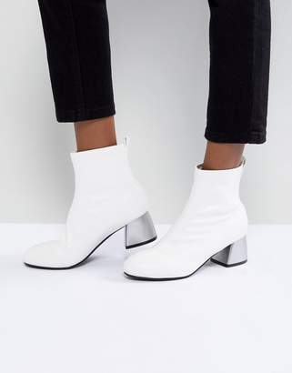 Park Lane Mid Heel Sock Boot