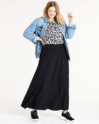 Fashion World Crepe Maxi Skirt