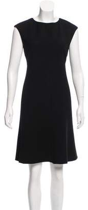 Giorgio Armani Wool Knee-Length Dress