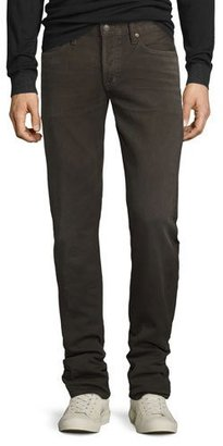 TOM FORD Five-Pocket Corduroy Pants, Brown $550 thestylecure.com