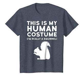 This Is My Human Costume I'm Really A Squirrel Shirt