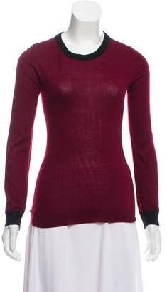 Wes Gordon Lightweight Knit Scoop Neck Sweater