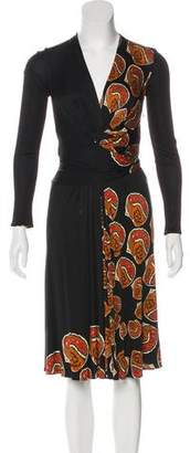 Issa Silk Midi Dress