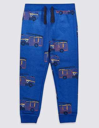 Marks and Spencer All Over Truck Print Joggers (3 Months - 7 Years)